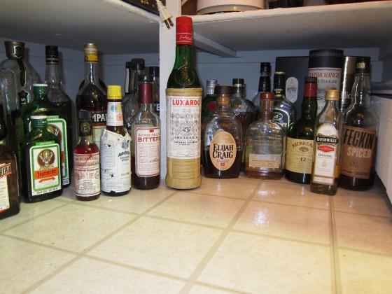 More liqueurs, bitters, spirits