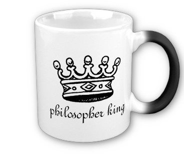 Philosopher King mug