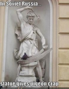 6 statues