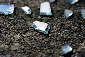 Glass shards