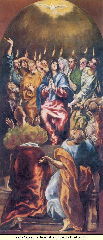 El Greco's Pentecost