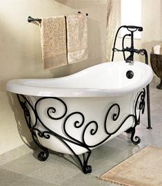 Mars bathtub