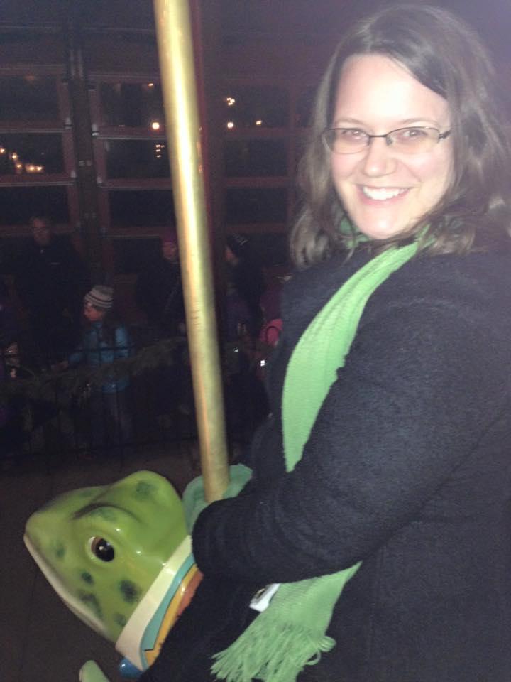 Onward, majestic Frog Steed!
