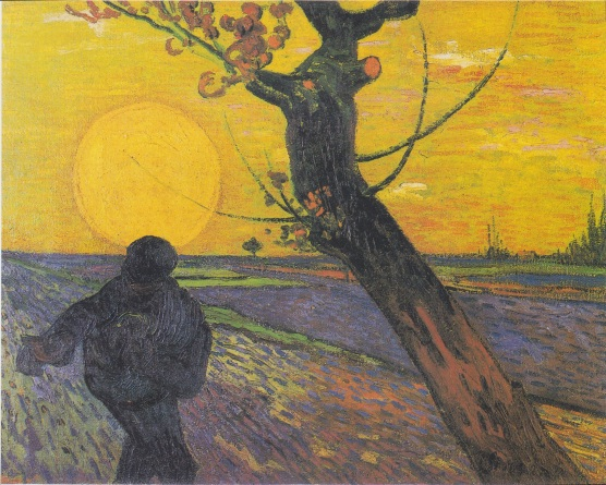 Sower at Sunset